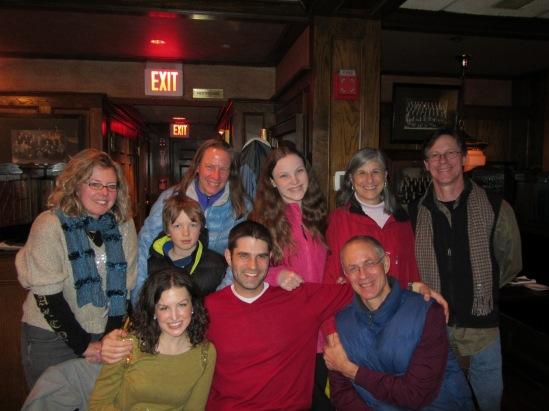 Family at Boston 12-27-11